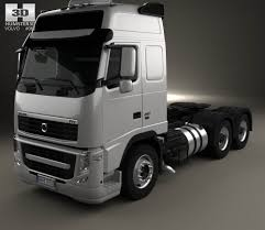 2015 volvo tractor volvo fh tractor truck 2012 3d model hum3d