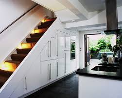 Kitchen Stairs Design 55 Amazing Space Saving Kitchens Under The Stairs