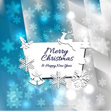 merry christmas and happy new year card background 123freevectors