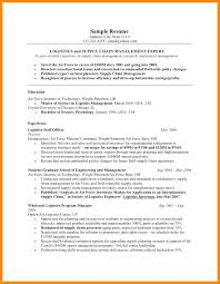 air force resume samples military to civilian resume example