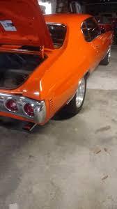 1971 chevrolet chevelle hugger orange paint stock 2271vajs for