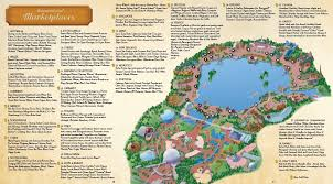 disney epcot map 2011 epcot international food and wine festival guide map disney