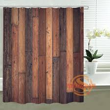 Custom Bathroom Shower Curtains Rustic Bathroom Shower Curtains Teawing Co