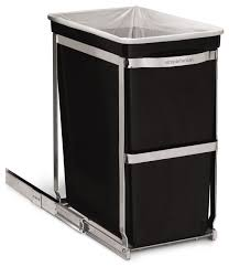 nice under cabinet trash can on liter under counter pull out can