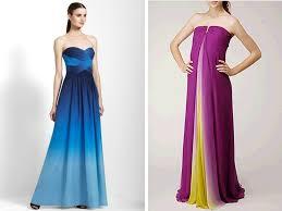 bcbg bridesmaid dresses modified a line ombre bridesmaids dresses by bcbg and miller