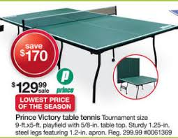 black friday ping pong table deals black friday deal prince victory table tennis table gmt 3280