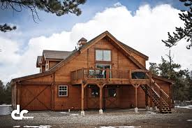 How To Build A Wood Floor With Pole Barn Construction by Colorado Barn Builders Dc Builders