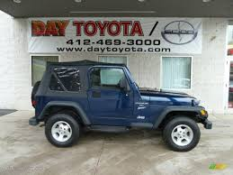 graphite jeep wrangler 2000 patriot blue pearl jeep wrangler sport 4x4 56873639