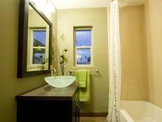 Mirrored Bathroom Vanity by 10 Beautiful Bathroom Mirrors Hgtv