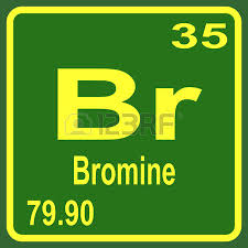 Bromine Periodic Table Periodic Table Of Elements Cesium Royalty Free Cliparts Vectors