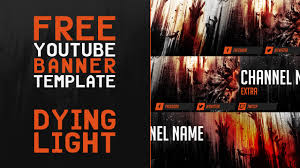 gaming banner template 15 images free gfx free dying light