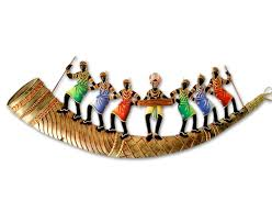 Online Home Decor Shops by Buy Trumpet 7 Adivasi People Online Shopping India Home Decor