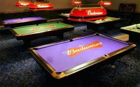 budweiser pool table light with horses budweiser pool table light pool design