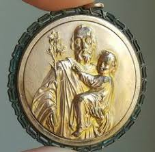 catholic gifts small vintage michael medal pendant slayer archangel