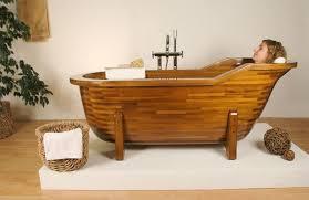 Wood Bathtubs Wood Made Bathtubs By Stolis Turn Your Bathroom Into A Spa