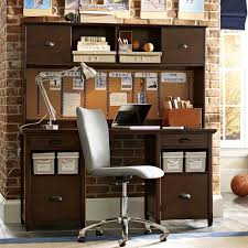 Computer Desk And Hutch Chatham Large Storage Desk Hutch Pbteen