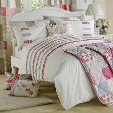 shabby chic floral design duvet set multi