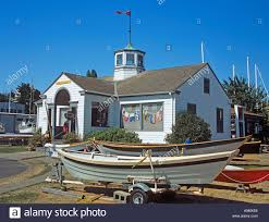 washington state house port townsend washington state usa september the wooden boat stock