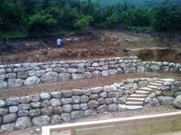 Decorative Rock Landscaping Rock Wall Installations Traditional Landscape Salt Lake City