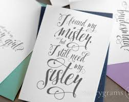 ask bridesmaids cards will you be my bridesmaid cards chic handwritten script