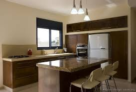 Shaker Kitchen Cabinet Plans A Contemporary Open Plan Kitchen With Dark Shaker Cabinets