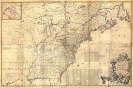 Map Of New England Coast by Giant Historic 1757 Wall Map Of British French Colonial Map North