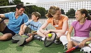 To Play With Family Family Tennis Play Days St S County Tennis Association