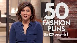 50 fashion puns in 120 seconds from punderdome champion sam corbin