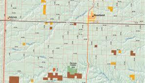 kansas walk in map visit goodland