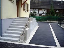 bloc marche escalier exterieur escaliers haut rhin béton pierre composite métallique