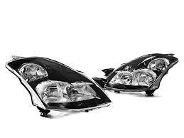 nissan altima 2016 oman black headlights w smoke reflector for 07 09 nissan altima sedan