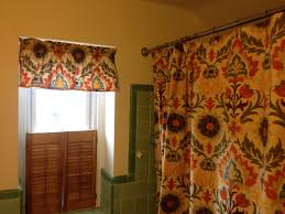 Shower Curtain And Valance Diy Shower Curtain Adventures In Life