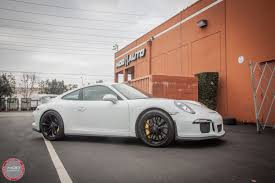 sick porsche 911 video porsche 991 gt3 gets brutal sharkwerks exhaust