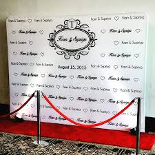 wedding backdrop logo wedding logo wall with carpet jpg 640 640 ldd