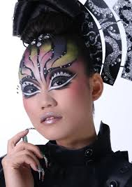 Halloween Geisha Makeup by Musely