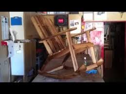 costruire sedia a dondolo sedia dondolo in noce