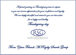 happy thanksgiving best friend rsg environmental recruiting blog and jobs archives rigsby