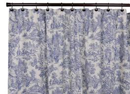white and blue toile shower curtain toile shower curtain for the