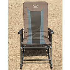 Folding Rocking Chair Timber Ridge Smooth Glide Lightweight Padded Folding Rocking Chair