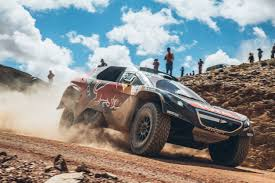 peugeot dakar 2016 sebastien loeb scores third stage win to extend dakar lead