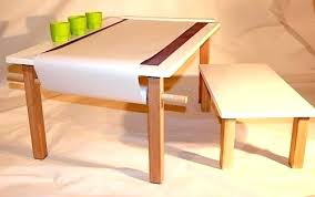 arts and crafts table for kids arts and craft tables pottery barn table crafts with paper roll