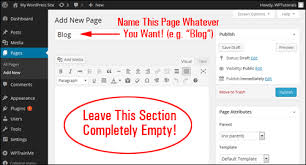 tutorial wordpress blog wp tutorial how to add a blog page to wordpress renee shupe
