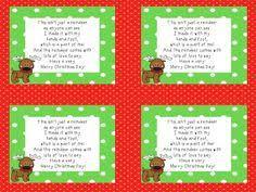 reindeer handprint poem search kinder