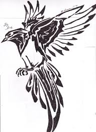 tribal bird by ryl1101 on deviantart