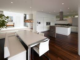 beautiful popular modern kitchen and living room design for hall