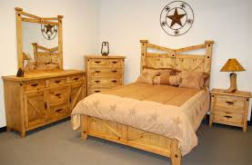 Jordans Furniture Bedroom Sets by Amazon Com Rustic Western Santa Fe Bedroom Set King Size Bed