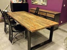 bureau loft industriel table salle a manger style loft charming table salle a manger loft 2
