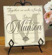 wedding plaques personalized personalized tile name plaques by simply sublime