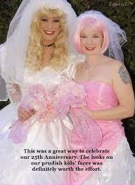 forced feminization wedding 25th celebration by lornasams on deviantart