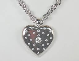 custom heart necklace gleim the jeweler custom jewelry